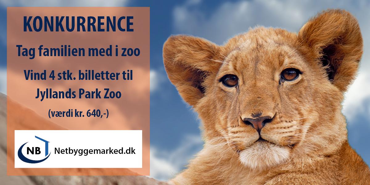 Forårskonkurrence - Vind zoo billetter
